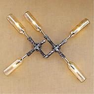 baratos Arandelas de Parede-Rústico/Campestre Luminárias de parede Para Metal Luz de parede 110-120V 220-240V 3WW