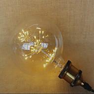 E26/E27 LED-globepærer 49 leds Dyp Led Dekorativ Gul 220lm 2300K AC 220-240V