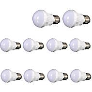 billige Globepærer med LED-5W 400 lm E26/E27 LED-globepærer leds SMD 2835 Dekorativ Varm hvit AC110 AC 220-240V