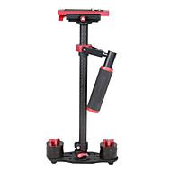 yelangu s60t 60cm din fibra de carbon stabilizator portabil pentru DV aparat foto DSLR (roșu)