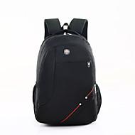 お買い得  スクールバッグ-男性用 女性用 バッグ キャンバス オックスフォード スクールバッグ のために カジュアル アウトドア 冬 オールシーズン ブラック