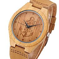 Pánské Vojenské hodinky Hodinky k šatům Módní hodinky Náramkové hodinky Unikátní Creative hodinky Hodiny Dřevo Sportovní hodinky Křemenný