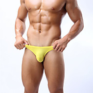 Homens Sexy Cuecas Sólido Cintura Baixa