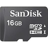 baratos Cartões de Memória-SanDisk 16GB Cartão SD cartão de memória Class4