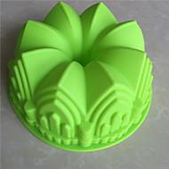 billige Bakeredskap-Bakeform Is Sjokolade Pizza Pai For Småkake Til Småkake Kake Brød Annen Silikon GDS Høy kvalitet 3D Non-Stick