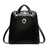 Women Bags PU Backpack Rivet for Shopping Casual Formal Outdoor All Seasons Beige Fuchsia Brown Wine Royal Blue