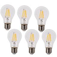 voordelige -E26/E27 LED-gloeilampen A60 (A19) 4 leds COB Waterbestendig Decoratief Warm wit Koel wit 2700/6500lm 2700k/6500K AC 220-240V