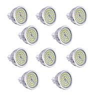 billige Spotlys med LED-7W GU5.3(MR16) LED-spotpærer 48 SMD 2835 550-650 lm Varm hvit / Kjølig hvit Dimbar / Dekorativ DC 12 / AC 12 V 10 stk.