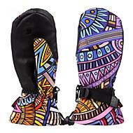 Skihandschoenen Lange Vinger Dames Activiteit/Sport HandschoenenHoud Warm waterdicht Winddicht Vochtdoorlaatbaarheid Ademend Slijtvast