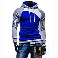 Bărbați Activ Zvelt Pantaloni - Bloc Culoare Gri Închis / Sport / Manșon Lung / Toamnă / Iarnă