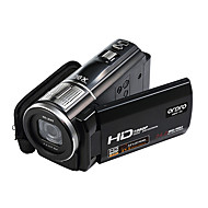 """ordro® HDV f5 video 1080p aparat de fotografiat digital 3 """"touch screen zoom digital 16x funcție macro suport de control la distanță"""