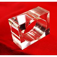 Dreptunghiular Cu model / Geometric / Vacanță Inel de șervețele , Acrilic MaterialHotelul masă / Nunta decorare Party / Cina conferință