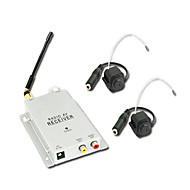 billige Trådløst CCTV System-1,2 GHz luksus sikkerhet CCTV trådløse CMOS farge video og AV-mottaker