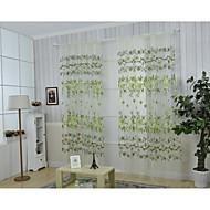 """billige Gardiner ogdraperinger-Vannavstøtende gardiner gardiner Stue Et panel 39WX 79 """"L Rødstrupe-egg Blå"""