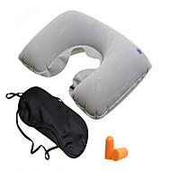 1pcs flocagem travesseiro travesseiro de ar cachecol olhos