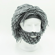 Children Men And Women Pure Cotton Wig Genuine New Year Gift Creative Beard Crazy Handmade Wig Funny Annual Meeting (Not synthetic Pure Cotton)