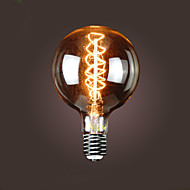 bofa g150 e40 40w antikk edison silke ball boble lampe (85v-265v)