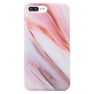 billiga Mobil cases & Skärmskydd-CaseMe fodral Till Apple iPhone 7 / iPhone 7 Plus / iPhone 6 Mönster Skal Marmor Mjukt TPU för iPhone 7 Plus / iPhone 7 / iPhone 6s Plus