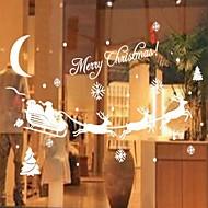 純色 クラシック風 ウインドウステッカー,PVC /ビニール 材料 窓の飾り