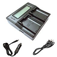 ismartdigi EL15 LCD încărcător cu cablu dublu taxa auto pentru nikon D7000 D7100 batterys camera d7200 D750 D610 D800 D810