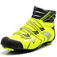 baratos Sapatos Masculinos-Homens Materiais Customizados / PVC Outono / Inverno Conforto Tênis Ciclismo Botas Curtas / Ankle Verde