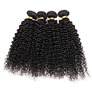 4 bundles Brazilian Kinky Curly Human Hair Weave Extensions 400g Full Head Set 8inch-28inch