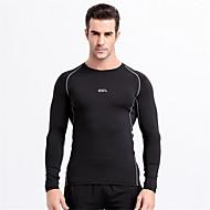 Muškarci Futópóló Dugih rukava Quick dry Podesan za nošenje Prozračnost Udobnost T-majica Majice za Sposobnost Trkaći brod Košarka