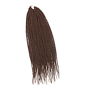 Szenegál Twist Zsinór Póthajak 20Inch Kanekalon 35 Strands (Recommended By 3 Packs for a Full Head) Part 98g gramm Hair Zsinór