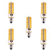 ywxlight® e11 led maissi valot 80 smd 5730 500-700 lm lämmin valkoinen kylmä valkoinen himmennettävä koriste ac 110/220 v