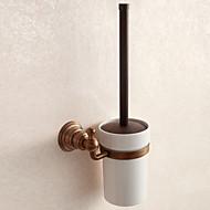 Suporte para Escova de Banheiro Gadget de Banheiro / Latão Antiquado Antigo