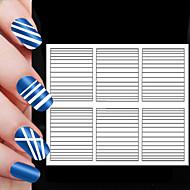 90pcs različite veličine profesionalna izrada obrazac nail art alat # 01