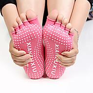 Damen Zehensocken Yoga Socken Atmungsaktiv tragbar Antirutsch Für Ballett Pilates Tanz - 1 Paar Modisch Winter