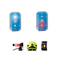 cheap -Safety Lights Rear Bike Light Front Bike Light Cycling Rechargeable Easy Carrying Small Size Color-Changing Lumens USB Color-changing
