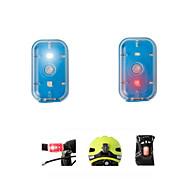 お買い得  -安全ライト 後部バイク光 自転車用ヘッドライト サイクリング 充電式 コンパクトデザイン スマールサイズ 変色 ルーメン USB キャンプ/ハイキング/ケイビング 日常使用 サイクリング 屋外 旅行