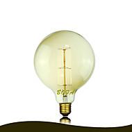 BofA g125 13ak 40W antikk Edison silke ball boble lampe (85V-265V)