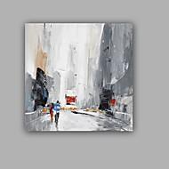 baratos -Pintados à mão Abstrato Paisagem Clássico Realismo Tela Pintura a Óleo Decoração para casa 1 Painel