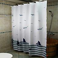 Uusklassiset Polyesteri 180 * 180  -  Korkealaatuinen Suihkuverhot