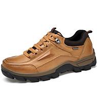 baratos Sapatos Masculinos-Homens Sapatos formais Pele Napa Outono / Inverno Oxfords Marron / Festas & Noite