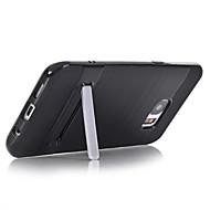 Capinha Para Samsung Galaxy S7 edge S7 Com Suporte Capa Traseira Côr Sólida Rígida PC para S7 edge S7