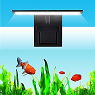 baratos -Aquários Iluminação de LED Luz do tanque de peixe Faixa LED Branco Com Interruptor Clipe Lâmpada de LED 220V