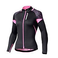 Χαμηλού Κόστους SPAKCT®-SPAKCT Γυναικεία Μακρυμάνικο Φανέλα ποδηλασίας Γεωμετρία Ποδήλατο Αθλητική μπλούζα, Αναπνέει Γρήγορο Στέγνωμα Anti Transpirație 100% Πολυέστερ / Ελαστικό
