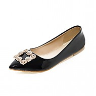 Women's Flats Spring Summer Fall Winter Comfort Novelty Slingback Synthetic Leatherette PU Wedding Office & Career Dress Party & Evening