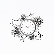 cheap Wall Clocks-Modern/Contemporary Plastic Other Novelty Indoor/Outdoor,AA Wall Clock