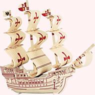 ウッドパズル おもちゃ 有名建造物 中国建造物 船 家 プロフェッショナルレベル 男の子 女の子 1 小品
