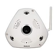 billige Innendørs IP Nettverkskameraer-HOSAFE.COM SVR13MW1 1.3 MP Innendørs with IR-kutt Primær 32(Dag Nat Bevegelsessensor Dobbeltstrømspumpe Fjernadgang Plug and play Wi-Fi
