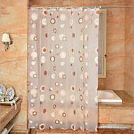 cheap Shower Curtains-Shower Curtains Neoclassical PEVA Polka Dot Machine Made