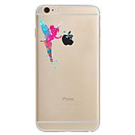 Pro iPhone 8 iPhone 8 Plus iPhone 7 iPhone 7 Plus iPhone 6 Pouzdra a obaly Ultra tenké Vzor Zadní kryt Carcasă Sexy lady Měkké TPU pro