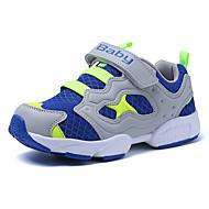 Atletické boty-Flís Tyl-Pohodlné-Chlapecké-Modrá Zelená Červená-Outdoor Běžné Atletika-Plochá podrážka