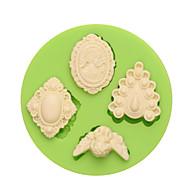 tanie Formy do ciast-Narzędzia do pieczenia Silikonowy Ekologiczne / Nieprzylepny / Motyw świąteczny Tort / Ciastko / Cupcake Narzędzie do dekorowania