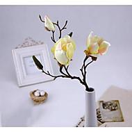 お買い得  コサージュ & 植物-1 ブランチ ポリエステル ラン テーブルトップフラワー 人工花